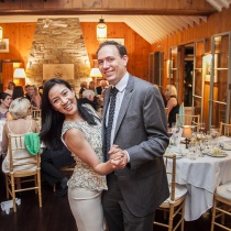 Clay Pell and Michelle Kwan Photo credit: Nick Mele