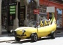 20 feet of high-octane fun: the Big Banana Car